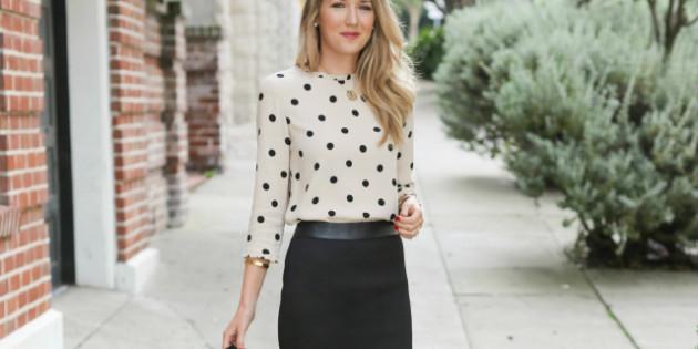 fashion blog for professional women new york city street style work