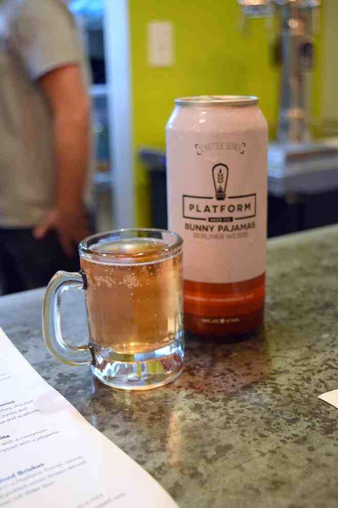 Beer & Bites with Sweet Carrot & Platform Beer Co.