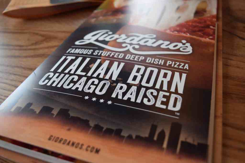 Giordano's is in Columbus // The Beard and The Baker Review