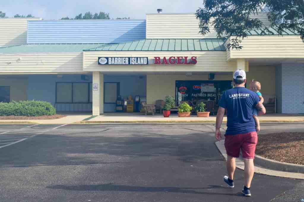Barrier Island Bagels // Restaurant Review // Outer Banks // The Beard and The Baker