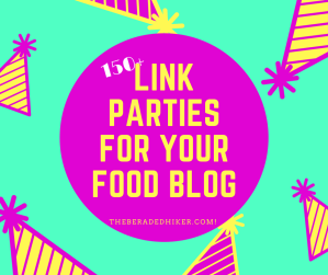 Link parties for your food blog