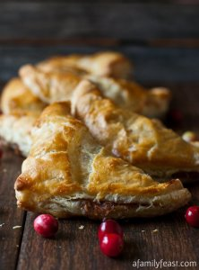 What to do with left over turkey? A Family Feast has you covered with these delicious turnovers!