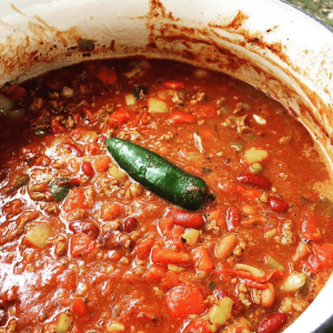 Jaxx's Chili #1 - Easily the best chili you'll ever put in your mouth!