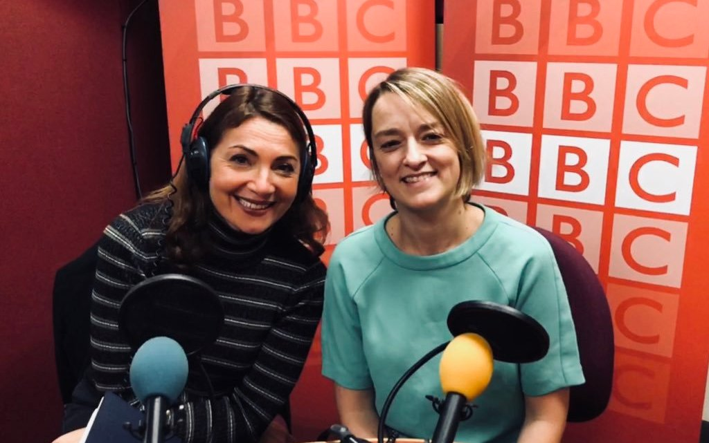 Poster Girls #3 :  Laura Kuenssberg and Katya Adler