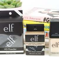 elf Cosmetics | Jelly Highlighter, Flawless Foundation & HD Powder Review