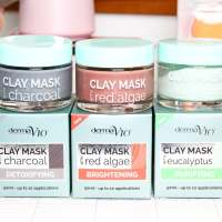 The Derma V10 Clay Mask Collection | A Face Mask for Only £1.99?!