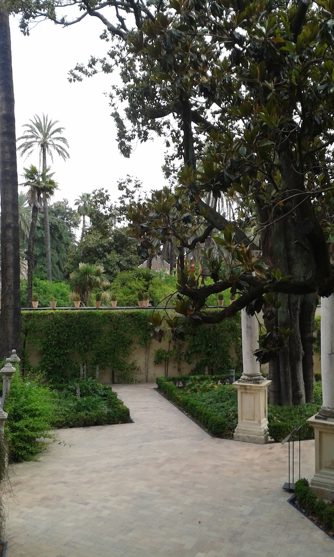 Alcazar Palace Seville Spain