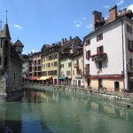 A Beautiful Day in Annecy, France
