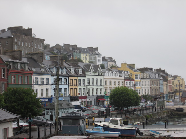 The town of Cobh (formerly Queenstown)