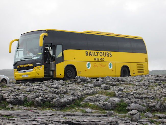 Rail Tours Ireland Coach