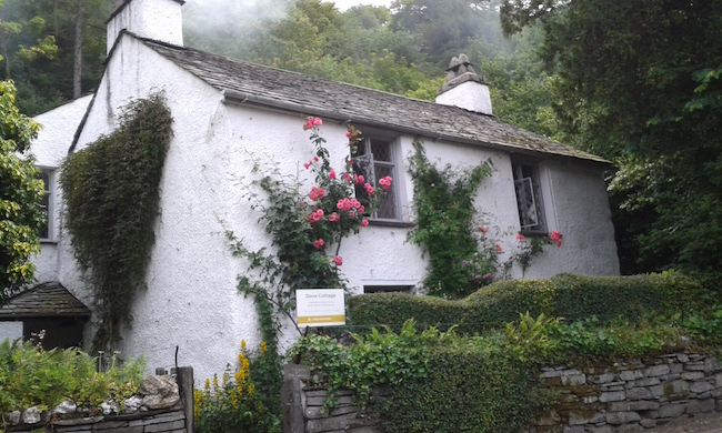 It was a thrill to tour Wordsworth's Dove Cottage.