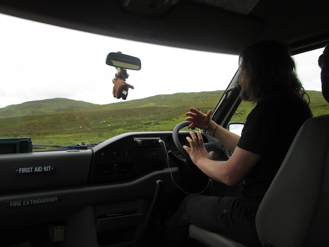 Bill describes the landscape and geography of Skye