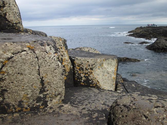 Basalt columns...or steps for a giant?