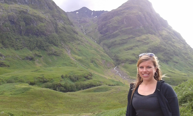 During one of our stops in Glencoe