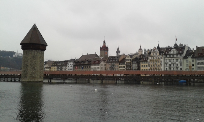 Covered Bridge, Lucerne, Switzerland
