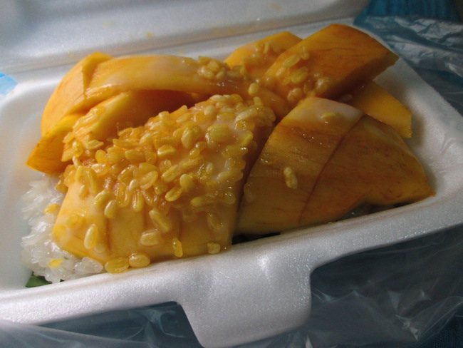 Mango Sticky Rice, Chiang Mai, Thailand