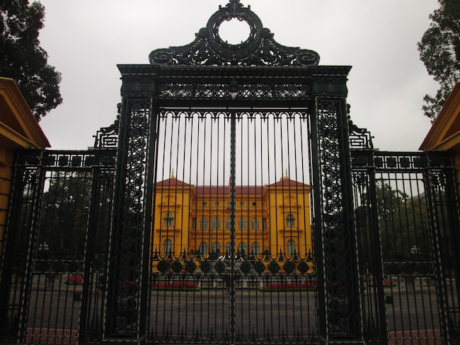 Ho Chi Minh's Presidential Palace