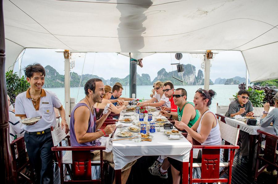 Ha Long Bay Cruise on Dragon Pearl Junk