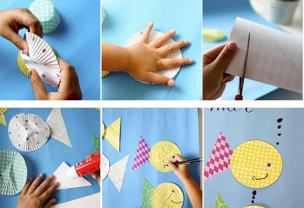 paso a paso para hacer manualidades sencillas con niños