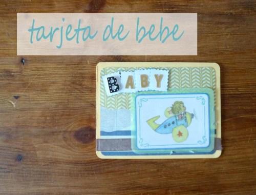 portada como hacer una tarjeta baby shower
