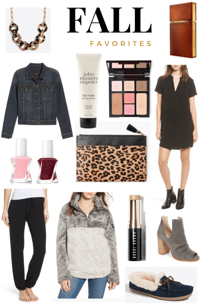 FALL FASHION & BEAUTY FAVORITES | I share a roundup of my Fall Fashion & Beauty Favorites on the blog today, including a statement sweater and my all time favorite fragrance.