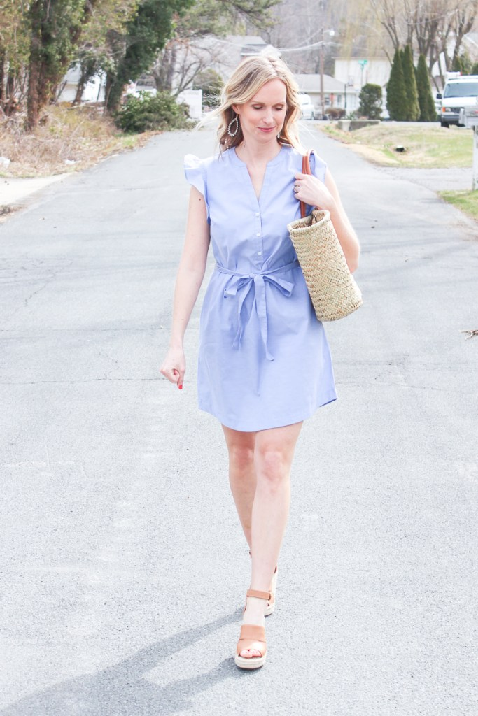THE PERFECT SPRING DRESS | SPRING OUTFIT IDEAS | MOM OUTFIT IDEAS | SPRING OUTFITS | SPRING DRESSES |