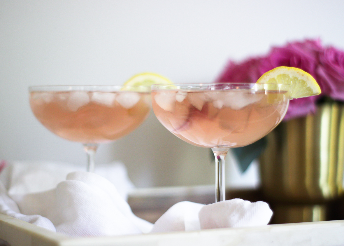 THE PINK FRENCH 75 COCKTAIL RECIPE
