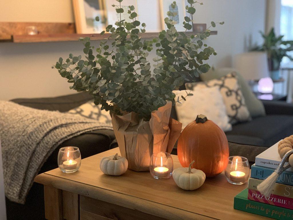 AFFORDABLE FALL DECOR PIECES | I am sharing some affordable fall decor ideas for the home, and the porch including vases, pillows and cozy blankets. #falldecorideas #falldecor2020