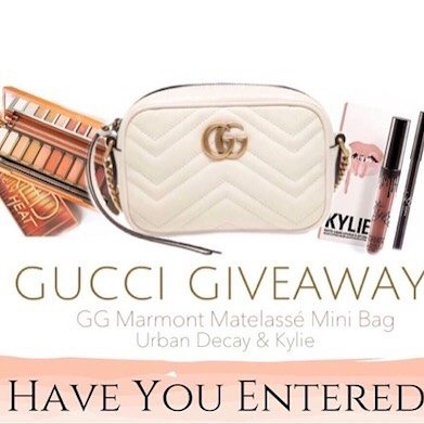 Have you entered this amazing GG Marmont Matelasse Mini Baghellip