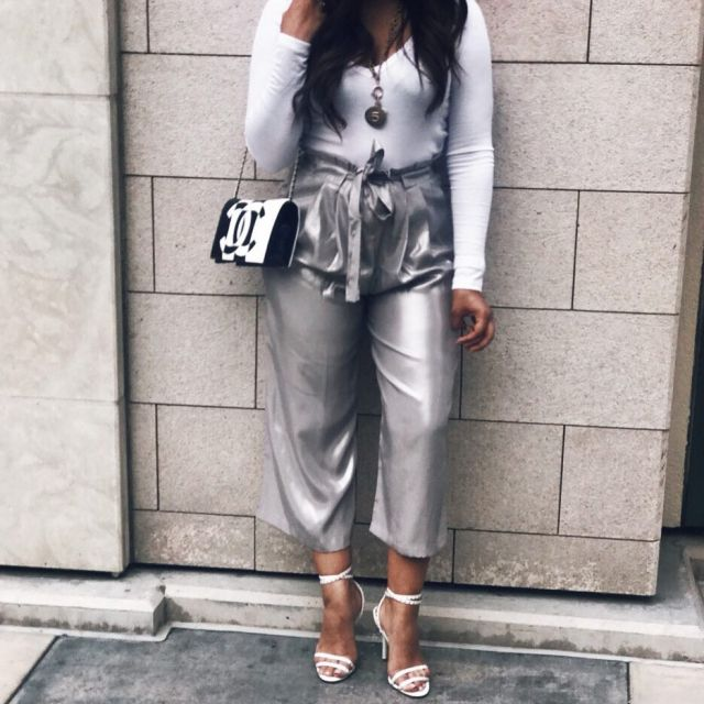 A little fbf Giving culottes a try thebeautygirlreport