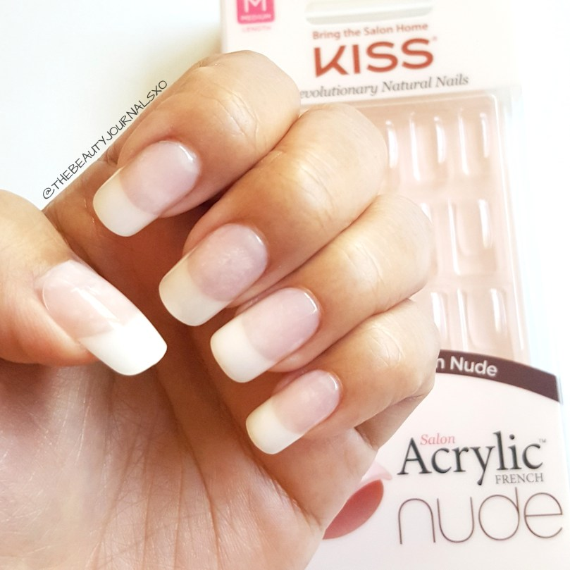 Kiss Acrylic Nude French Nails Review – The Beauty Journals
