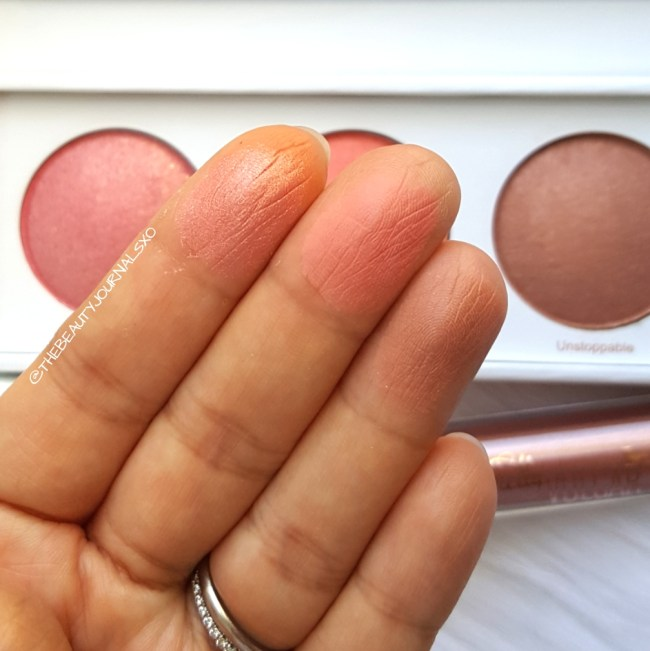 Real Her Blush Kit Swatches