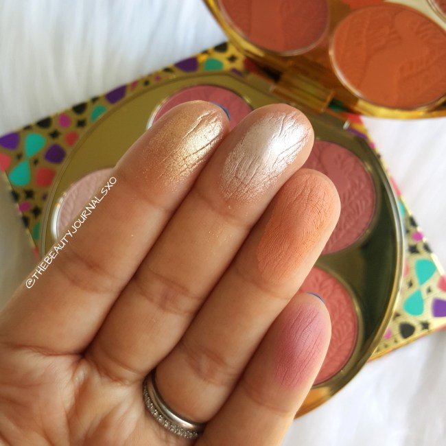 Tarte Blush Bazaar Palette Review and Swatches