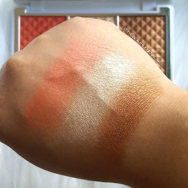 Pur Bronze and Brighten Cheek Palette