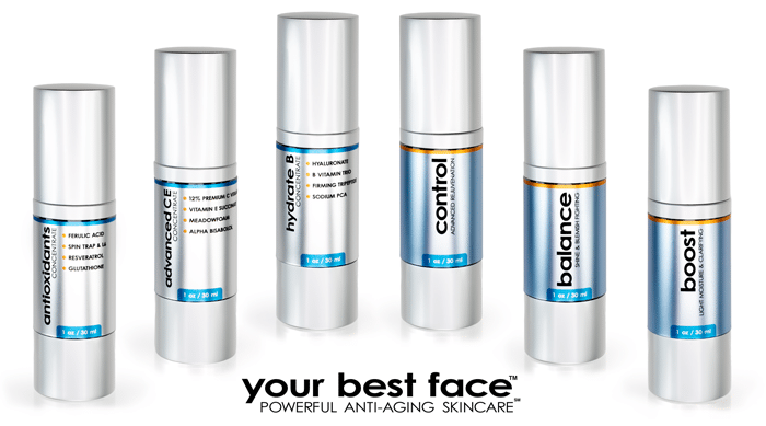 The Concentrates and Other Essentials from Your Best Face (YBF) Skincare