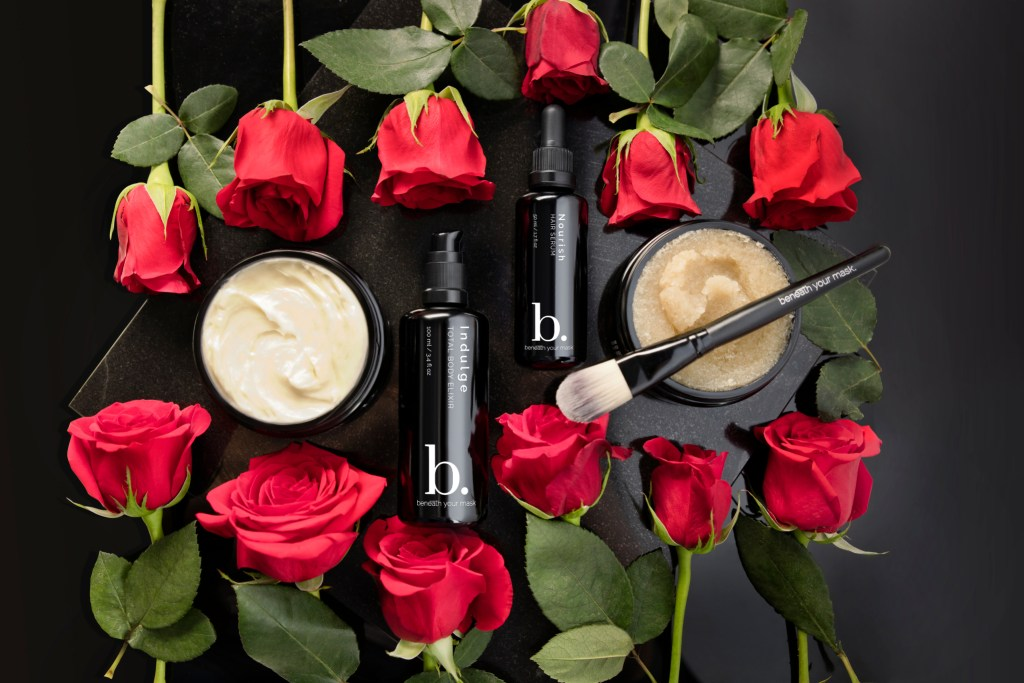 Beneath Your Mask, ecoluxe skincare line