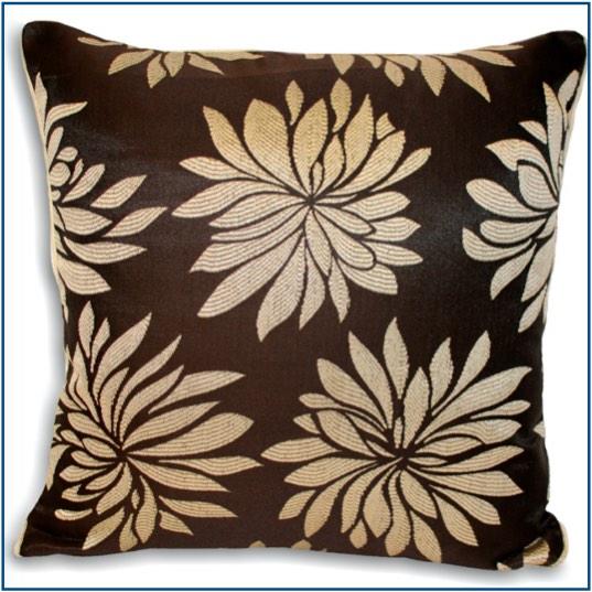 dhalia natural cushion cover