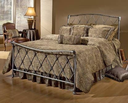 Sleigh Bed King Queen Twin Upholstered