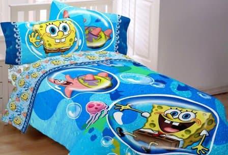 Spongebob Squarepants Full Bedding Set