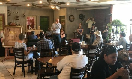 Democratic Governor Candidate Visits Mohave County