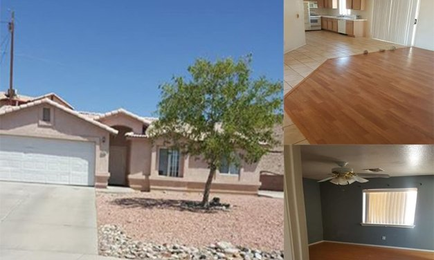 3 Bedroom Home For Rent-Fort Mohave