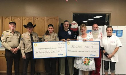Walmart Donates To Two Local Charities