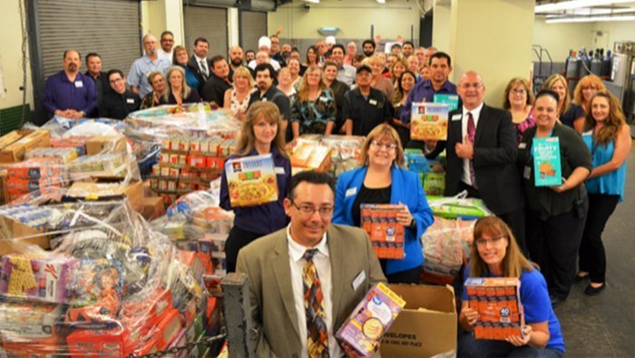 Aquarius Casino Resort Collects Food Items For Local Families In Annual Food Drive