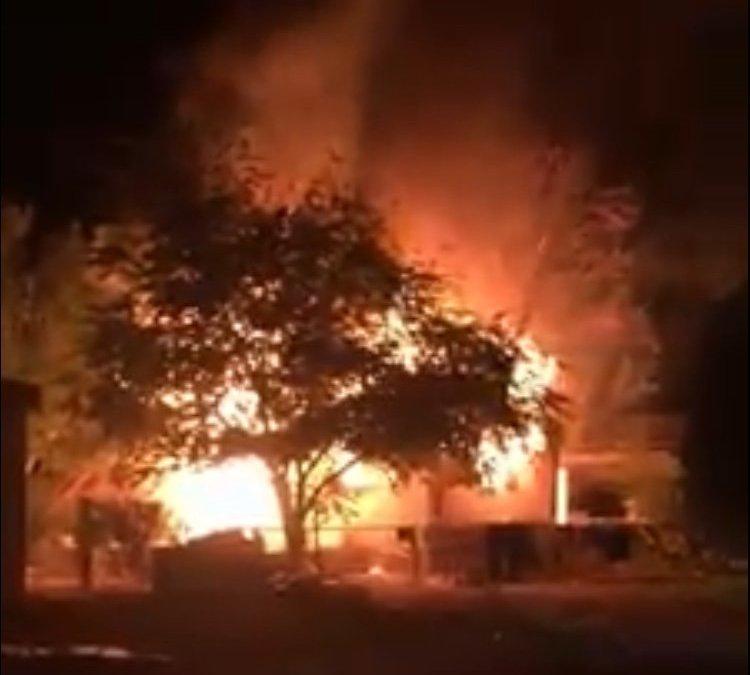 Arson Fire Destroys Kingman Mobile Home