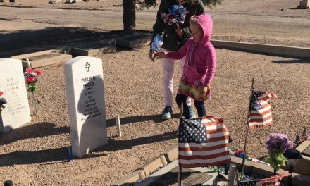 Girl Scouts Show Their Respect for Vets