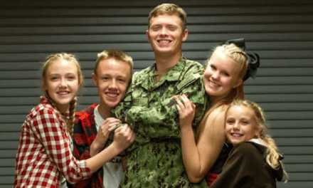 Former KAOL Navy Officer Surprises Siblings For Holidays