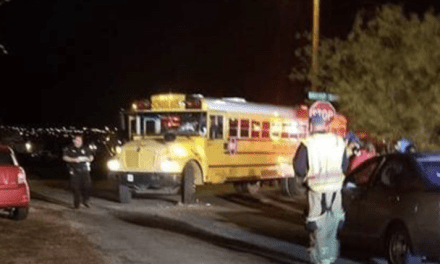 No Injuries Reported In School Bus Crash
