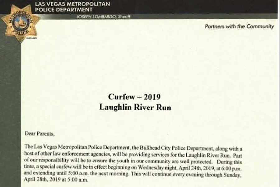 Curfew in effect through Sunday