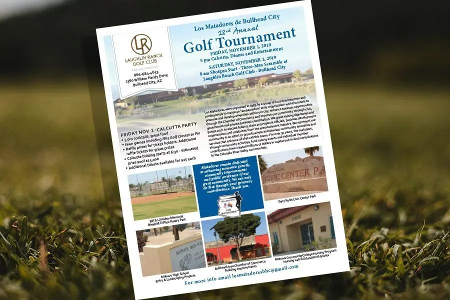 Los Matadores Charity Golf Tournament Needs Your Tee Sponsorship!
