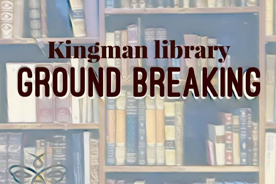 LIBRARY GROUNDBREAKING SCHEDULED MONDAY